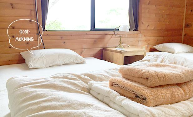 ベッドルーム写真