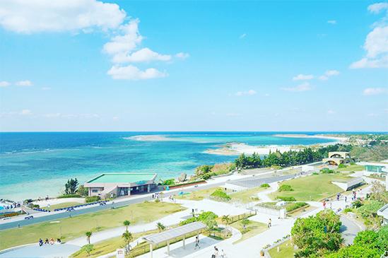広大な海洋博公園